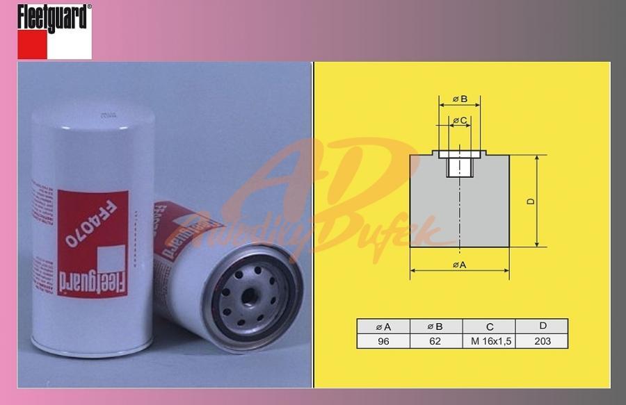 filtr naftový DAF 95 ATI-