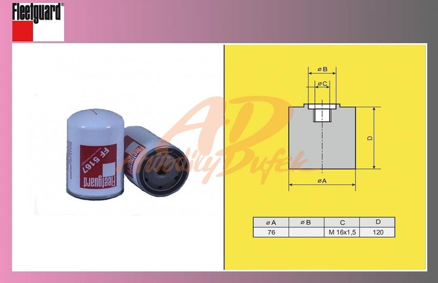 filtr naftový RENAULT MAGNUM