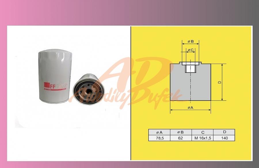 filtr naftový IVECO ETECH 440/malý/
