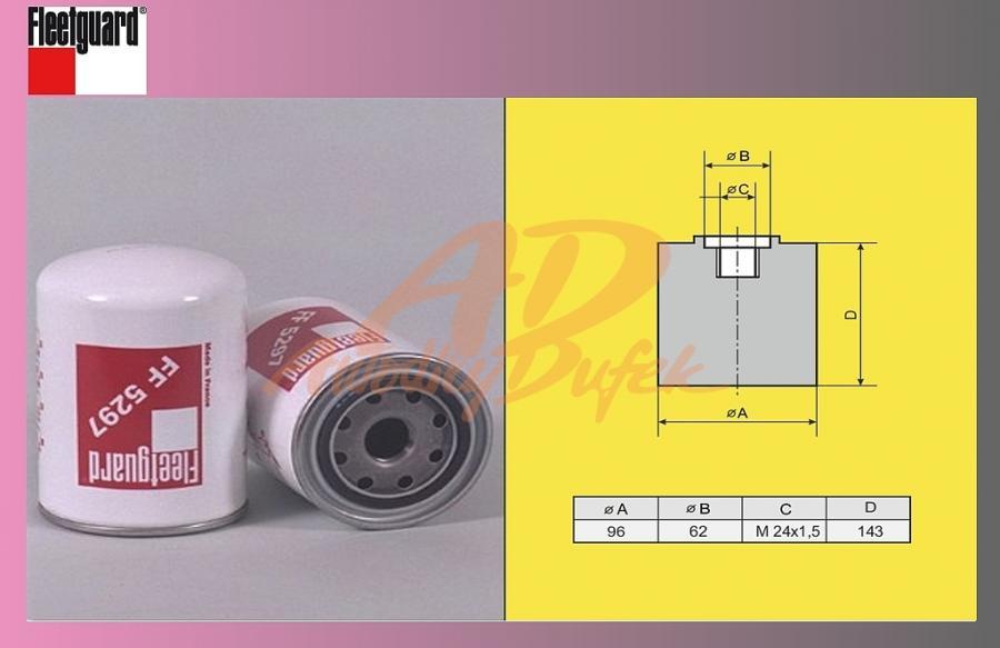 filtr naftový SCANIA 124 La