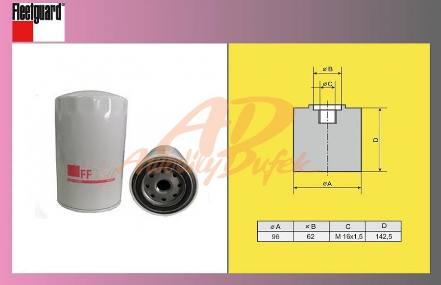 filtr naftový DAF 95XF-FLEET