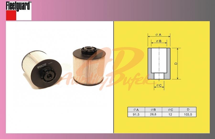 filtr naftový MB ATEGO