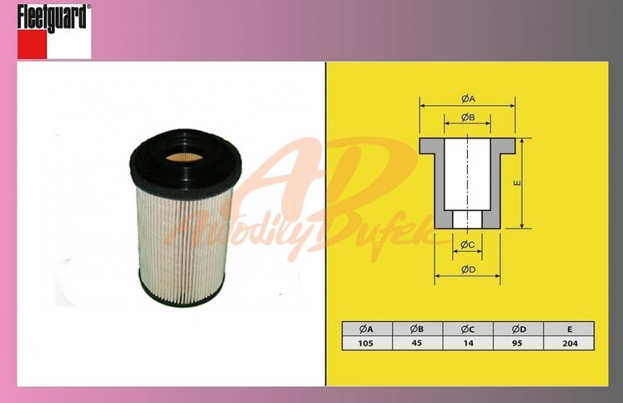 filtr naftový MB ACTROS