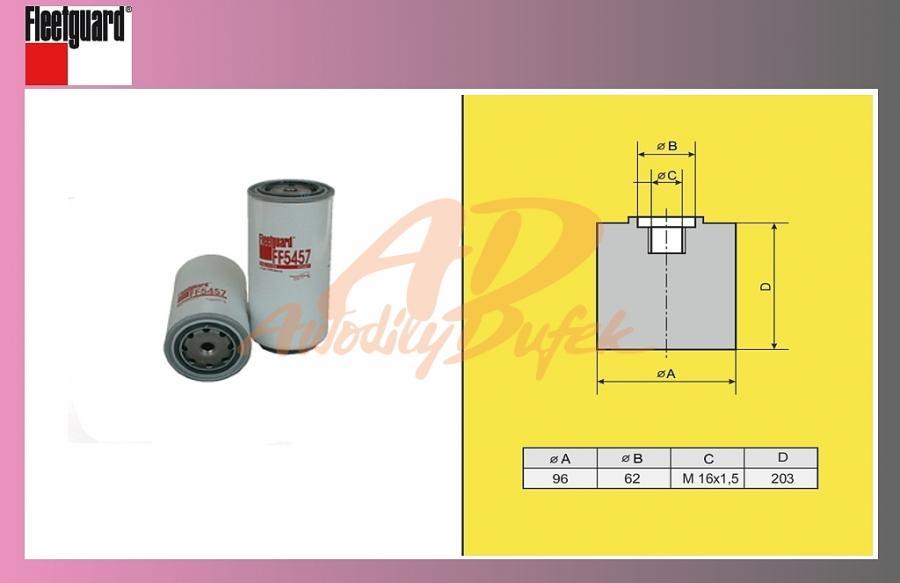 filtr naftový IVECO ETECH,ETRAK-CURSOR