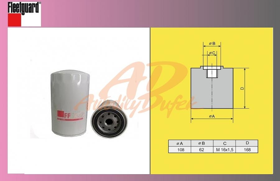 filtr naftový IVECO STRALIS-FLEET