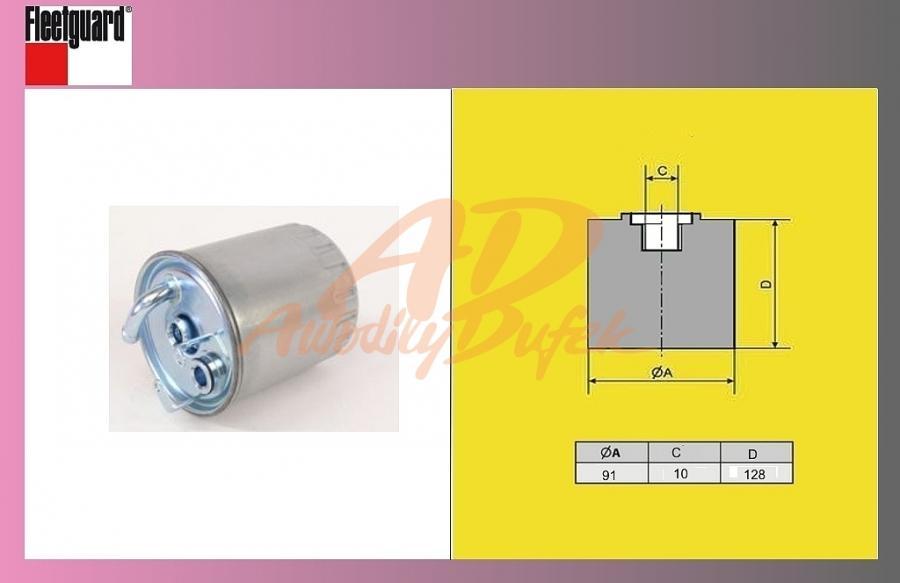filtr naftový MB Sprinter