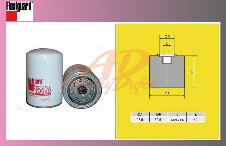filtr naftový SCANIA 124LA,144