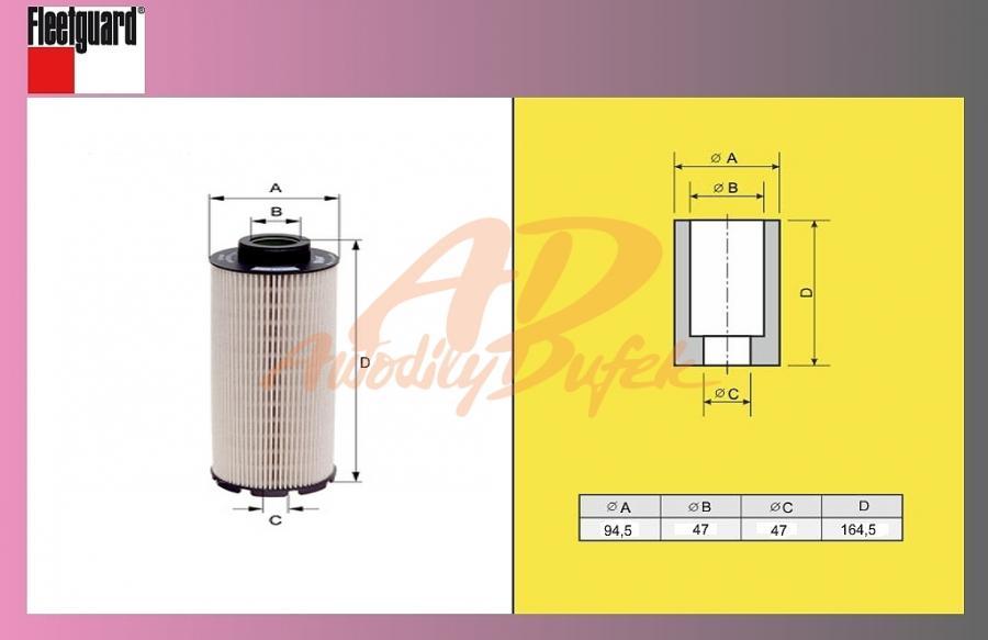 filtr naftový RENAULT Midlum