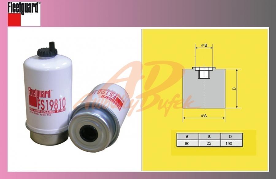 filtr naftový RENAULT MIDL,PREM,MASCOT