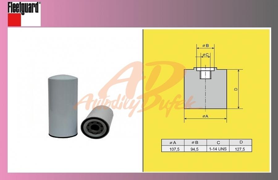 filtr naftový RENAULT Midlum-separator