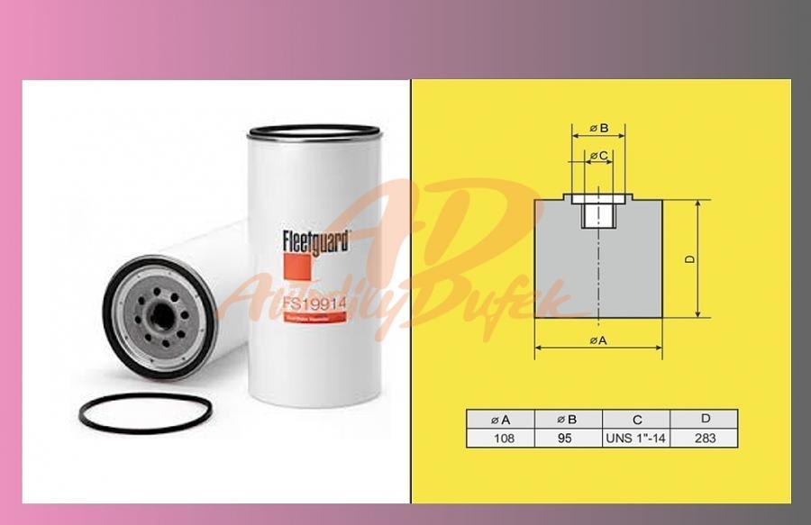 filtr naftový MB ACTROS-separ.