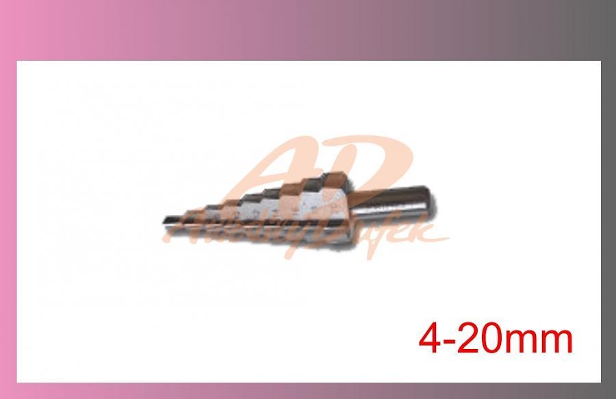 vrták stupňovitý 4-20mm