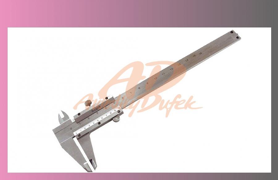 měřítko posuvné kovové 150