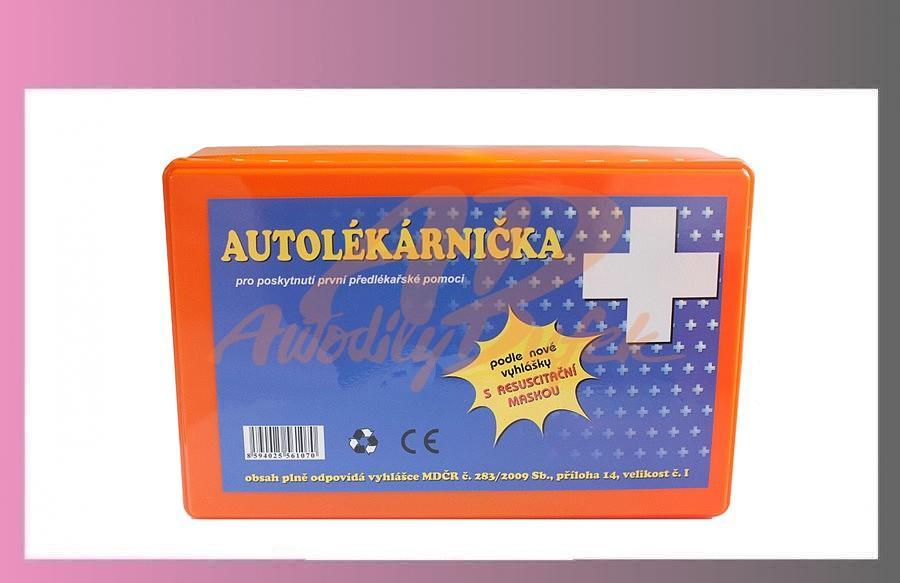 autolékárna-plastový obal /do 2019/