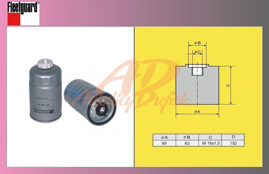 filtr naftový MB ATEGO-odluč.ASAS