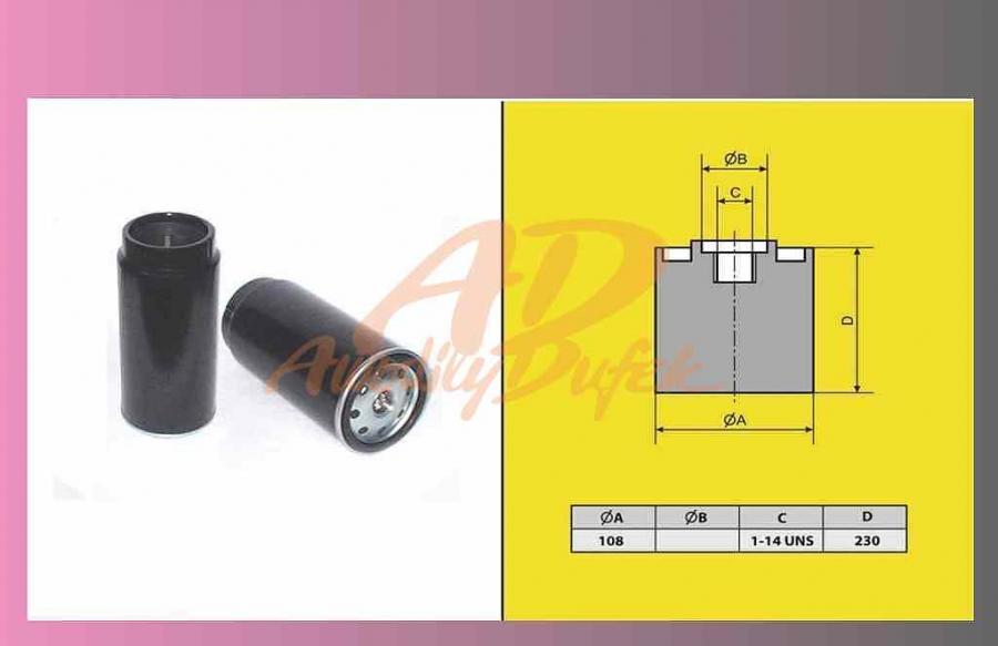 filtr naftový DAF XF95-105 odlučovač