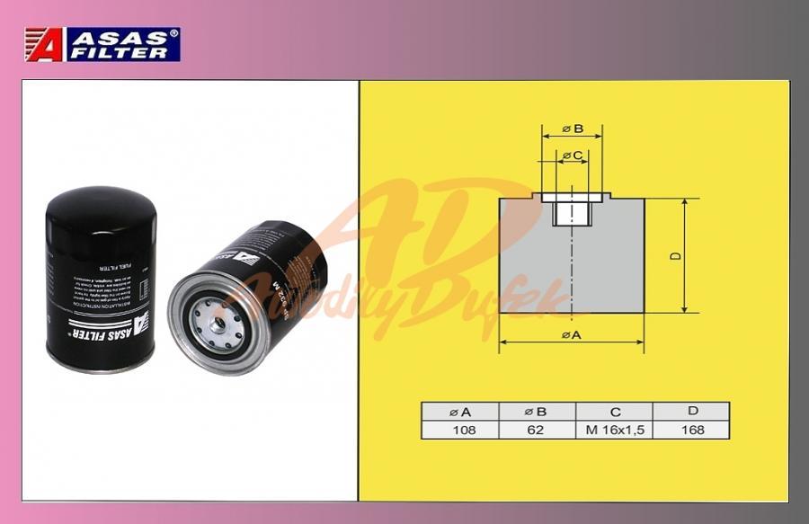 filtr naftový IVECO STRALIS-ASAS